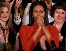 Đệ nhất phu nhân Mỹ nghẹn ngào nói lời chia tay