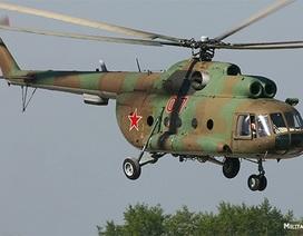 Trực thăng Nga chở 8 người rơi xuống biển