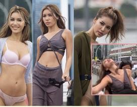 Đại diện Việt Nam ngất xỉu trong thử thách đầu tiên Asia's Next Top Model