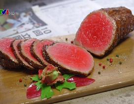 Kinh ngạc trước nghề làm mô hình đồ ăn giả ở Nhật Bản