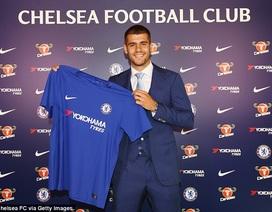 """""""Bom tấn"""" Morata rạng rỡ ra mắt Chelsea"""