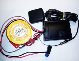 Khoá điện tử giúp chống trộm và truy tìm xe mất cắp