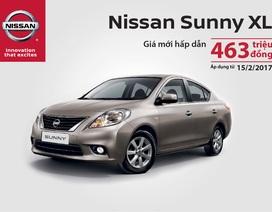 Nissan Sunny giảm giá mạnh còn 463 triệu đồng