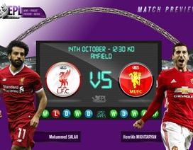 Liverpool - Man Utd: Mộng đẹp nào ở Anfield?