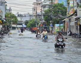 Mưa lớn kéo dài 3 ngày ở Tây Nguyên, Nam Bộ