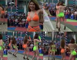"""Cục Biểu diễn """"vào cuộc"""" vụ vũ công mặc bikini, nhảy phản cảm ở Đầm Sen"""