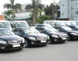 Chi hơn 1.200 tỷ đồng mua mới trên 1.100 ô tô công năm 2016