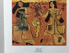 Cục Mỹ thuật phủ nhận sử dụng tranh giả của họa sĩ Nguyễn Sáng