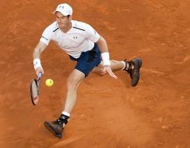 Madrid Open: Hạt giống số 1 Murray khởi đầu suôn sẻ