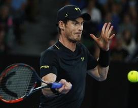 """Gặp chấn thương, Murray vẫn dễ dàng """"thổi bay"""" tay vợt 19 tuổi"""