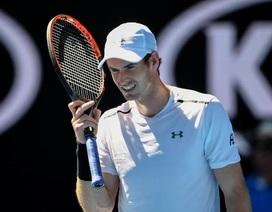 Murray vất vả thắng trận đầu, Halep dừng bước sớm
