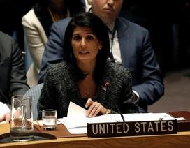 Mỹ phủ quyết nghị quyết Liên Hợp Quốc về Jerusalem