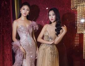 Hoa hậu Mỹ Linh, Á hậu Thanh Tú đọ dáng gợi cảm