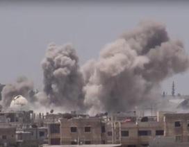Mỹ-Anh nhận trái đắng đầu tiên sau khi vào nam Syria