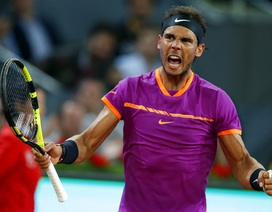 Madrid Open: Nadal gặp Djokovic ở bán kết