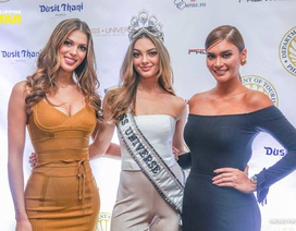 """Ba hoa hậu hoàn vũ """"đọ dáng"""" tại Philippines"""