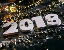 """Bộ ảnh đẹp """"Chúc mừng năm mới 2018"""" trên mạng xã hội"""