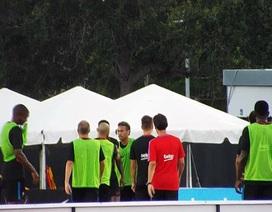 Neymar nổi điên, đòi đánh đồng đội trên sân tập