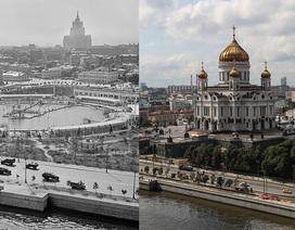 """Vẻ đẹp từ quá khứ tới hiện tại của """"trái tim"""" nước Nga"""