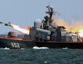 Nga triển khai 100 tàu chiến trên toàn thế giới
