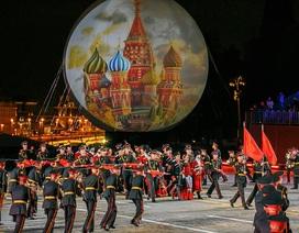 Mãn nhãn lễ hội quân nhạc lớn nhất thế giới tại Nga