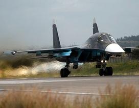 """Máy bay Nga """"thổi bay"""" sào huyệt dưới lòng đất của IS, tiêu diệt 40 phiến quân"""