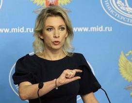 Nga cảnh báo đáp trả nhằm vào truyền thông Mỹ