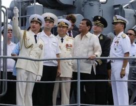 Philippines khởi động thoả thuận tăng cường hợp tác quân sự với Nga