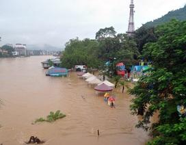 Ngập úng nghiêm trọng tại thành phố Hà Giang