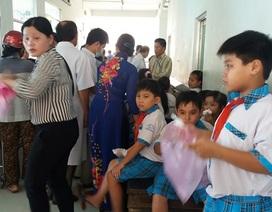 Vụ hơn 200 học sinh nhập viện: Do thực phẩm nhiễm vi sinh