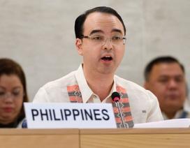 Tổng thống Philippines bổ nhiệm ngoại trưởng mới