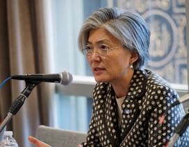 Nữ ứng viên ngoại trưởng đầu tiên trong lịch sử Hàn Quốc
