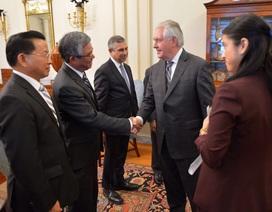 Đại sứ Việt Nam Phạm Quang Vinh gặp tân Ngoại trưởng Mỹ