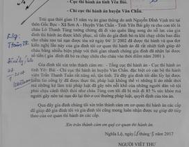 Một người dân Yên Bái viết thư cảm ơn cơ quan thi hành án dân sự