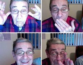 """Bộ ảnh các cụ ông cụ bà """"xì tin"""" khiến ai cũng phải bật cười"""