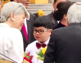 Cậu bé Việt có vinh dự tặng hoa Nhà vua và Hoàng hậu Nhật là ai?