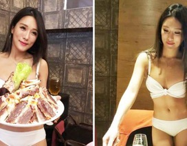 Đài Bắc: Nhà hàng lẩu hút thực khách bằng đồng phục bikini