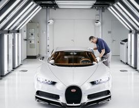 Bên trong nhà máy lắp ráp siêu xe Bugatti Chiron