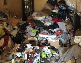 """Cận cảnh bên trong ngôi nhà """"rác ngập cao hơn đầu"""" gây sốc"""