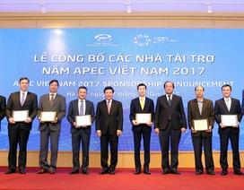"""Hé lộ tên doanh nghiệp """"đình đám"""" tài trợ kỷ lục cho APEC"""
