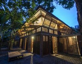 Ngôi nhà tre truyền thống giữa lòng Hà Nội xuất hiện trên báo Mỹ