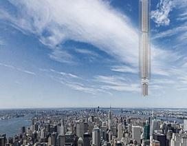 Kỳ lạ ý tưởng xây tòa nhà khổng lồ gắn với hành tinh ngoài Trái đất