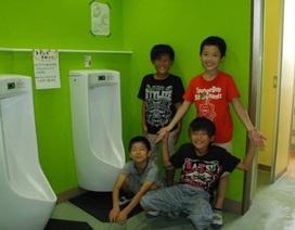 Trường học Nhật Bản: Biến nhà vệ sinh thành nơi… thú vị