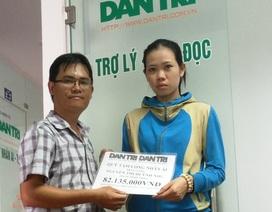 Hơn 82 triệu đồng đến với gia đình bé Thanh Tùng