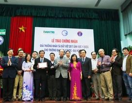 Thừa Thiên Huế tự hào 3 lần đoạt giải Nhân Tài Đất Việt