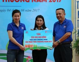 """Sơn TOA Việt Nam tiếp tục lan toả """"Sắc màu tình thương"""""""