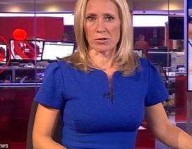 Nhân viên BBC mở phim người lớn trên sóng thời sự