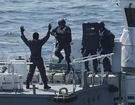 Tuần duyên Nhật Bản rầm rộ tập trận giữa lúc căng thẳng