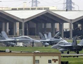 Hàng loạt máy bay chiến đấu Mỹ hạ cánh khẩn cấp tại Nhật Bản