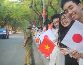 Nhật hoàng cảm kích trước sự tiếp đón nồng nhiệt của người dân cố đô Huế